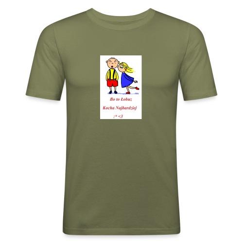 Łobuz kocha najbardziej - Obcisła koszulka męska
