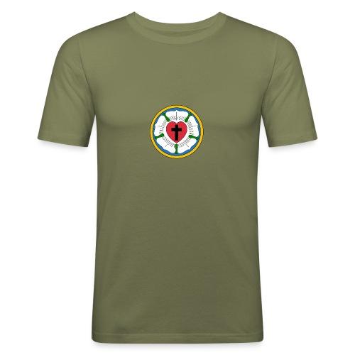 Luther Rose - Men's Slim Fit T-Shirt