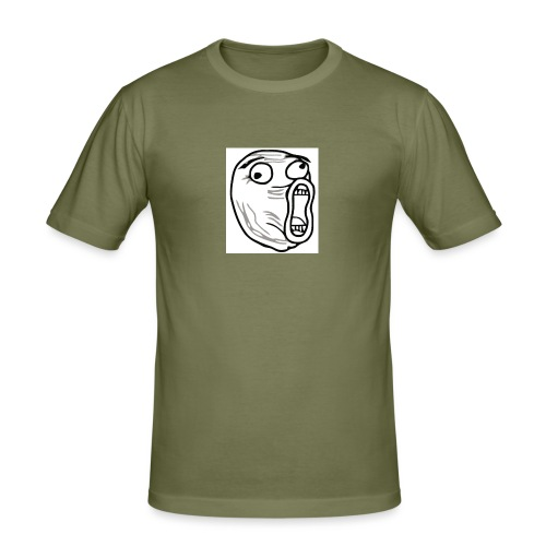 lol guy - Mannen slim fit T-shirt