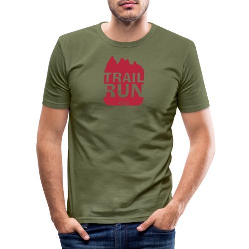 Trail Run - Männer Slim Fit T-Shirt