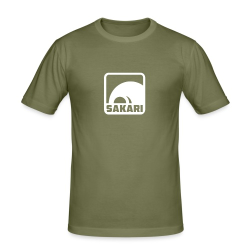 LogoWhite png - Men's Slim Fit T-Shirt