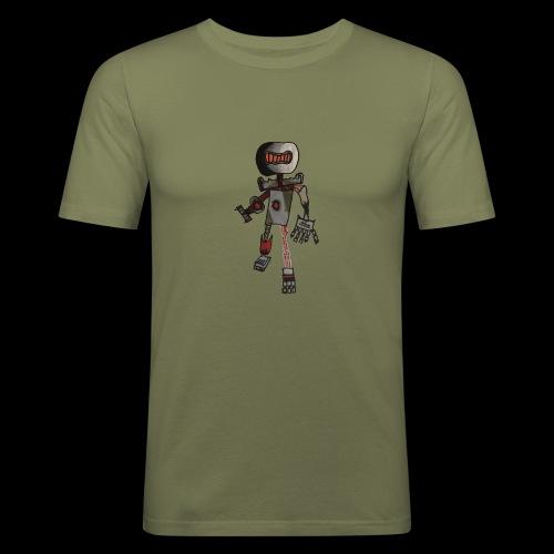 Rock OT BY TAiTO - Miesten tyköistuva t-paita
