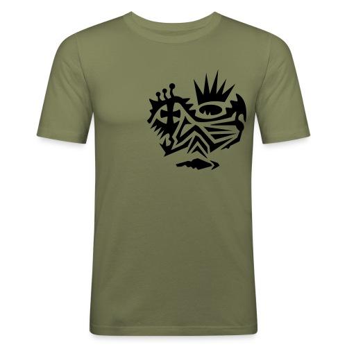 Skull Tribal 4 - Männer Slim Fit T-Shirt