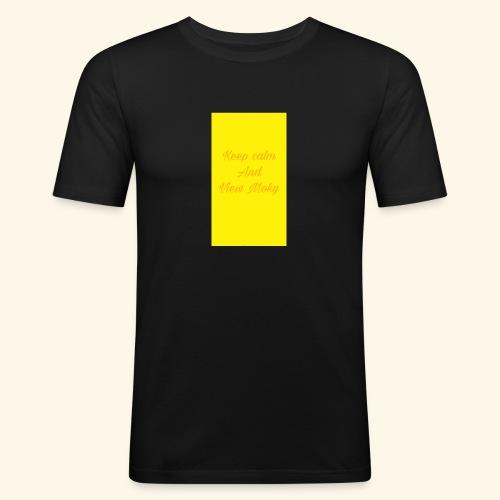 1504809773707 - Maglietta aderente da uomo