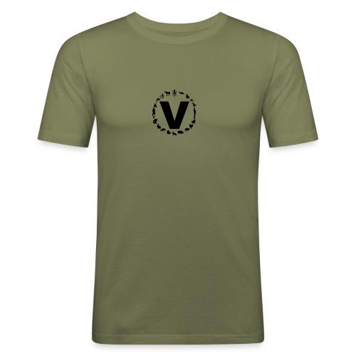 LOGO VIAND 2016 N B png - T-shirt près du corps Homme