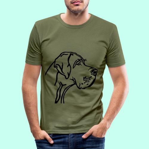 Große Dogge - Männer Slim Fit T-Shirt