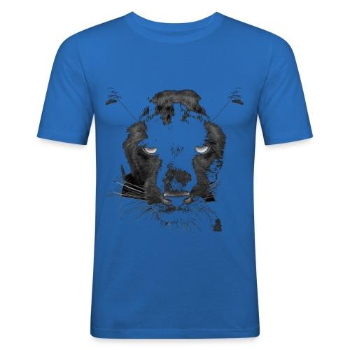 Pantere - T-shirt près du corps Homme