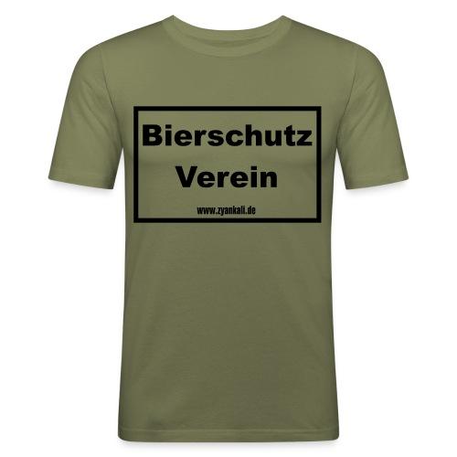 Bierschutzverein - Männer Slim Fit T-Shirt