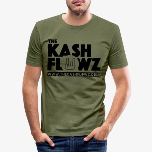 The Kash Flowz Official Web Site Black - T-shirt près du corps Homme