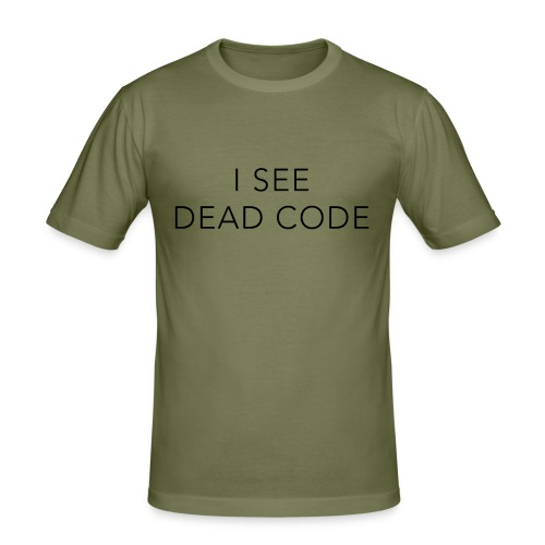 i see dead code - Men's Slim Fit T-Shirt