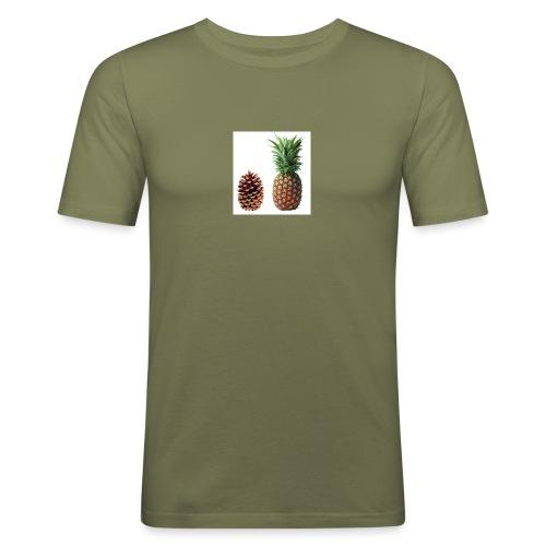 Pineapple - Men's Slim Fit T-Shirt