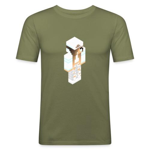 konijntjespower png - Mannen slim fit T-shirt