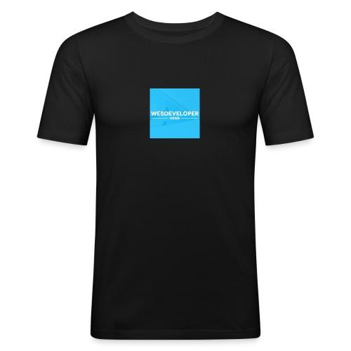Web developer News - Männer Slim Fit T-Shirt