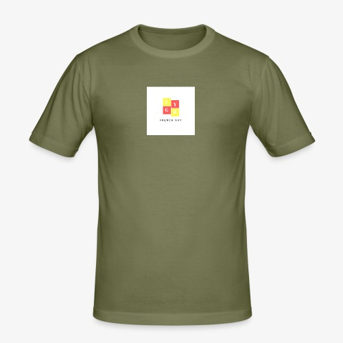 French Guy 1 - T-shirt près du corps Homme