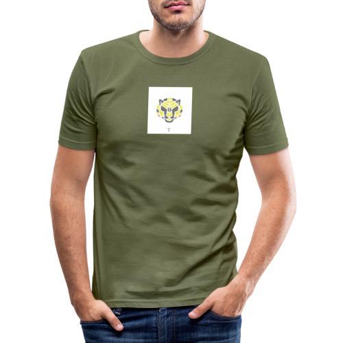 Tiger fra jungle - Herre Slim Fit T-Shirt