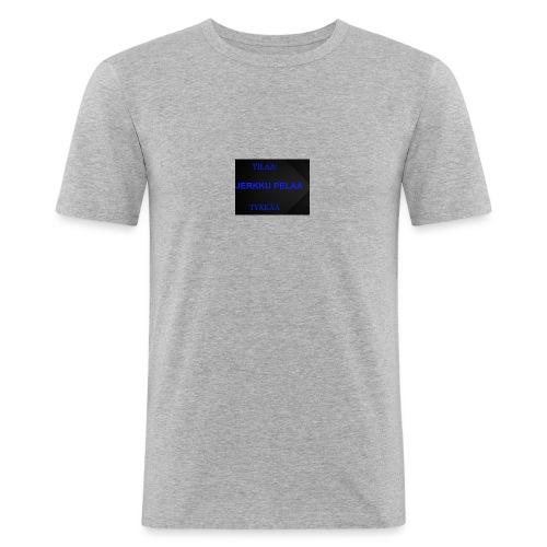 jerkku - Miesten tyköistuva t-paita