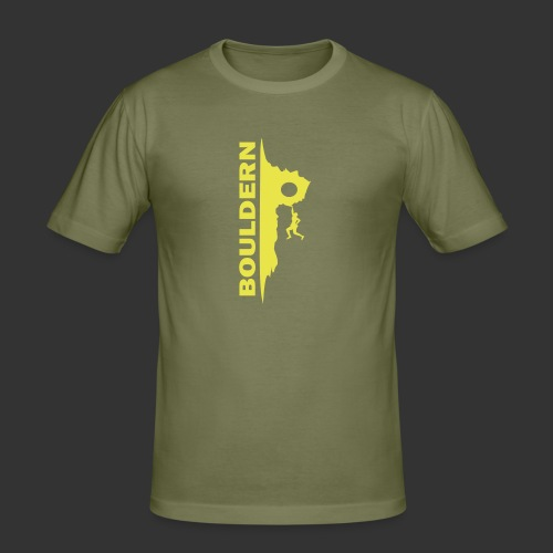 Bouldern - Männer Slim Fit T-Shirt