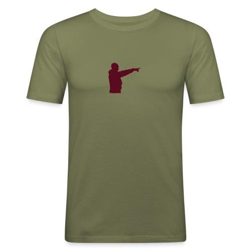 peker - Slim Fit T-skjorte for menn