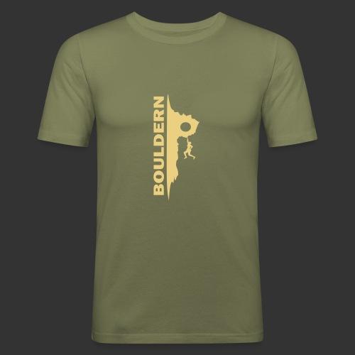 Bouldern - Männer Slim Fit T-Shirt