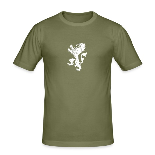 lion - Männer Slim Fit T-Shirt