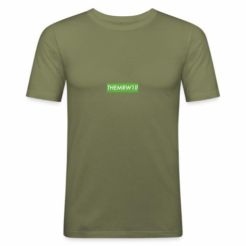 OG EXCLUSIVE W1ll logo - Men's Slim Fit T-Shirt