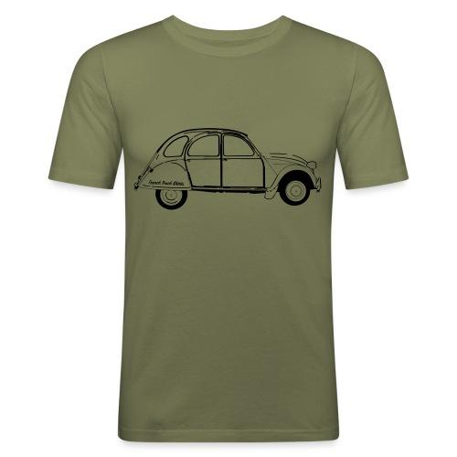 #frenchtouchshirt - T-shirt près du corps Homme