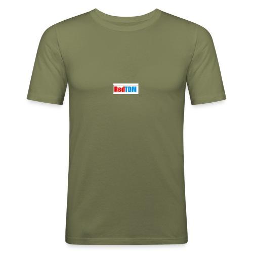 RedRed TDMBlue - Men's Slim Fit T-Shirt