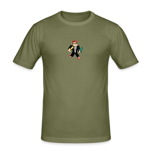 animated skin - Männer Slim Fit T-Shirt