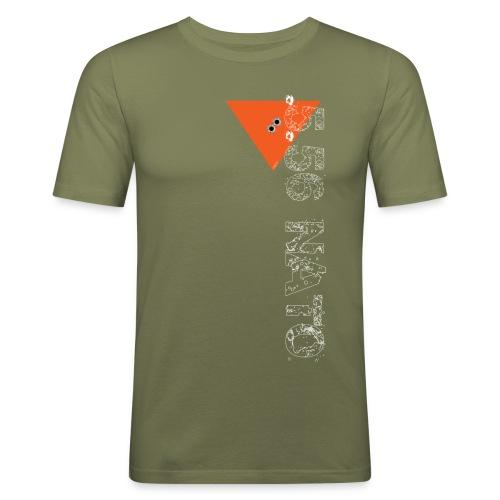 5 56 nato blanc vertical png - T-shirt près du corps Homme