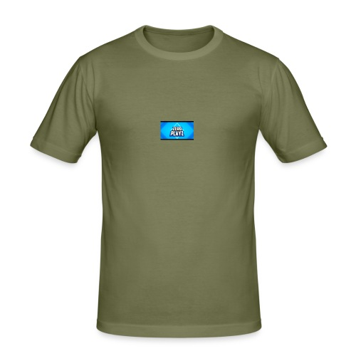 zero playz - Slim Fit T-skjorte for menn