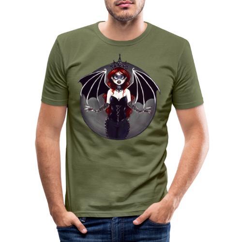E. R. Whittingham Artwork for World Gothic Models - Men's Slim Fit T-Shirt