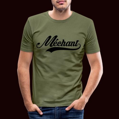 mechant_logo - T-shirt près du corps Homme