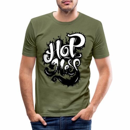 Hot Mess - Tattoo Urban Ink Graffitti - Herre Slim Fit T-Shirt
