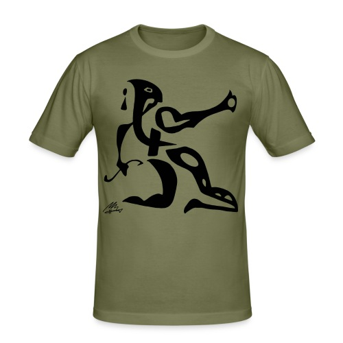 The Sphinx - Herre Slim Fit T-Shirt