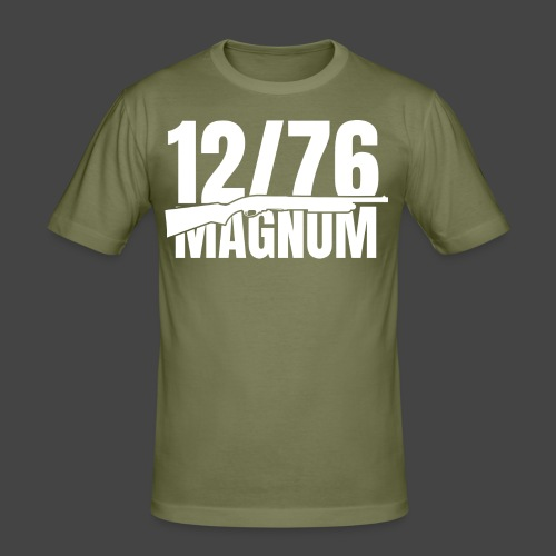 1276 Mag 870 w - Männer Slim Fit T-Shirt