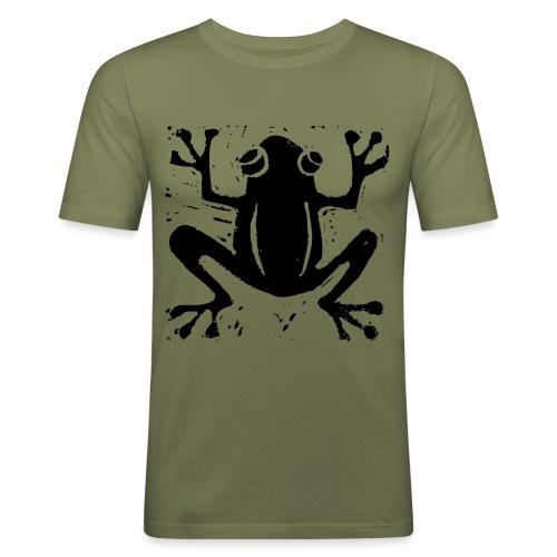 Crafty Wotnots Tree Frog - Men's Slim Fit T-Shirt