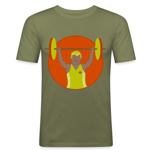 Motivation musculation - T-shirt près du corps Homme