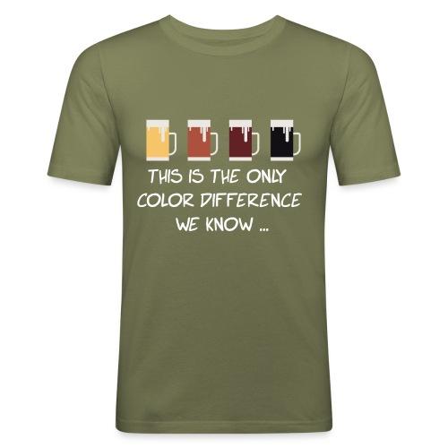 No to racism - Men's Slim Fit T-Shirt