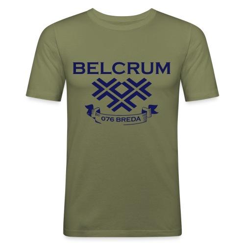 BELCRUM3 - Mannen slim fit T-shirt