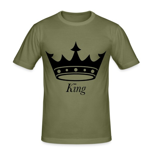 KING - Herre Slim Fit T-Shirt