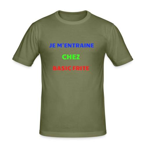 Basic Frite - T-shirt près du corps Homme