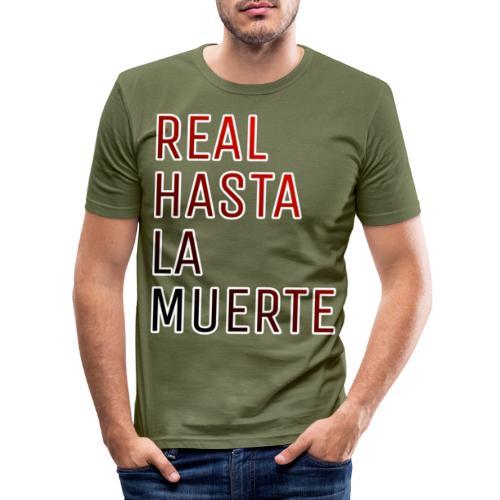 REAL HASTA LA MUERTE - Camiseta ajustada hombre