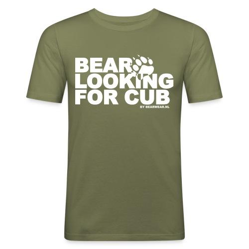 bear4cub - Men's Slim Fit T-Shirt