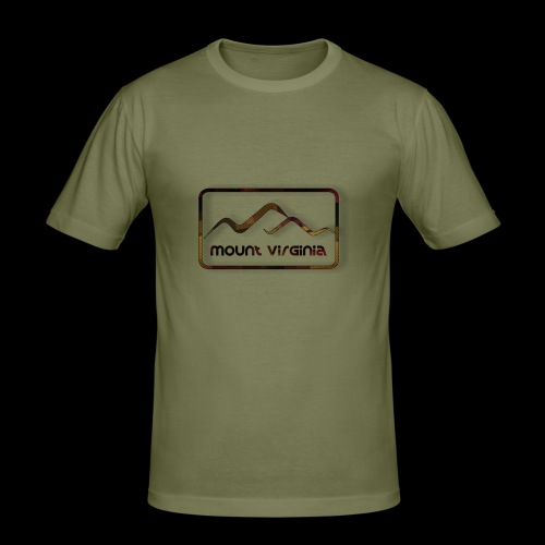 Mount Virginia Dark - Männer Slim Fit T-Shirt