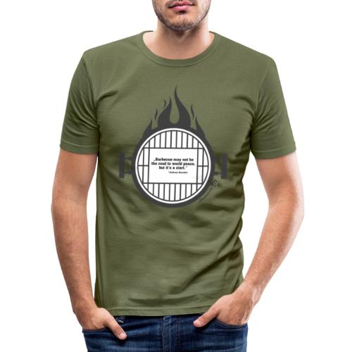 Anthony Bourdain - Männer Slim Fit T-Shirt
