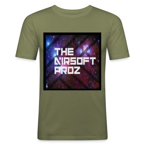 TheAirsoftProz Galaxy Mens Long Sleeve - Men's Slim Fit T-Shirt