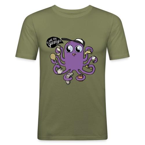 Eat All The Food! - Männer Slim Fit T-Shirt