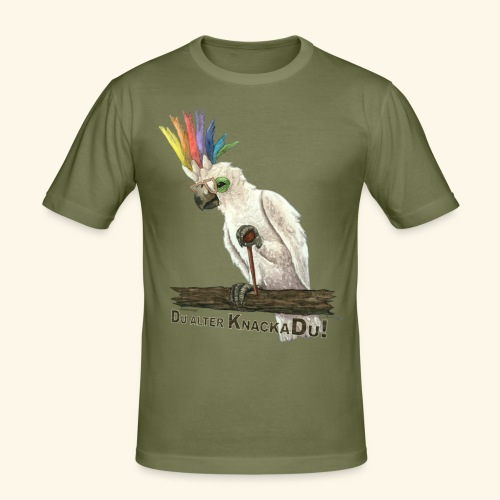 Armer, alter Knackadu! - Männer Slim Fit T-Shirt