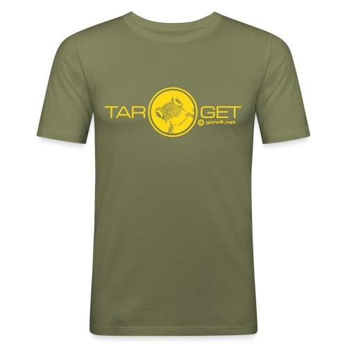 target frog gorx - Männer Slim Fit T-Shirt