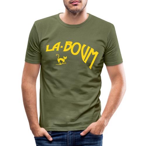logolaboum - Männer Slim Fit T-Shirt